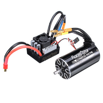 Racerstar 4076 Brushless Waterproof Sensorless Motor 2000KV 120A ESC 1/8 Cars RC Car Parts