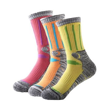 Women Ski Hiking Socks Outdoor Snowboarding Cycling Socks Winter Warm Socks