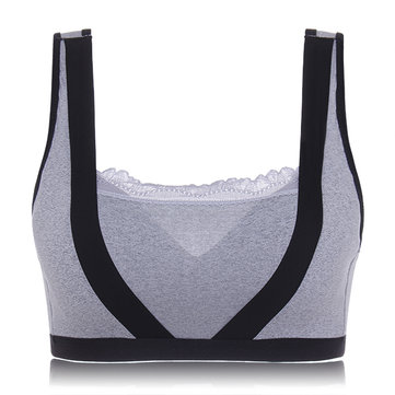 Full Cup Wireless U Back Pads Sports Vest Bra