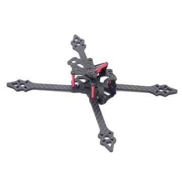 XSR 220 220mm FPV Racing Frame 4mm Arm Freestyle Stretch X Frame Kit RC Drone Carbon Fiber