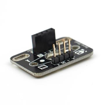 Smart Robot Car Accessories Ultrasonic Sensor Adapter 9g Servo Steering Module for Arduino