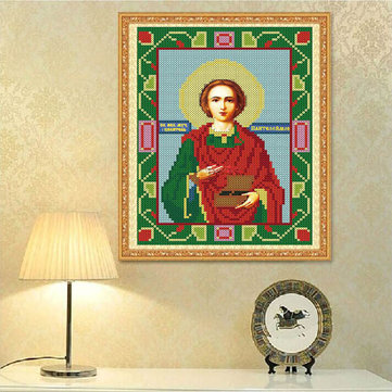 25x30cm 5D DIY Diamond Painting Religion Culture Rhinestone Cross Stitch Kit