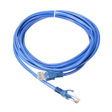 266mm Blue Cat5 65FT RJ45 Ethernet Cable For Cat5e Cat5 RJ45 Internet Networking LAN Cable Connector