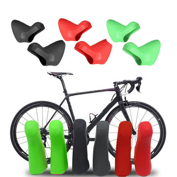 BIKIGHT Silicone Bike Bicycle Shifter Cover Road Bike Brake Shift Lever Cover For 20 Speed SRAM