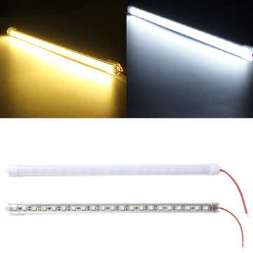 30CM 7.5W DC12V LED Rigid Strip Light 21 SMD 5050 Aluminum Alloy Shell Cabinet Lamp Bar