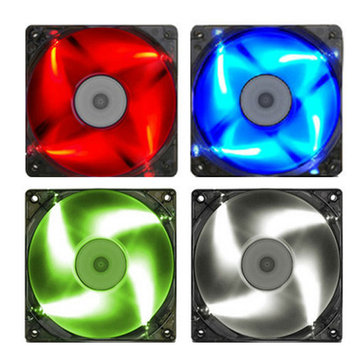 120x120x25mm Mining Miner LED Cooling Fan 40cm Cable 4 Color For ETH BTC Ethereum