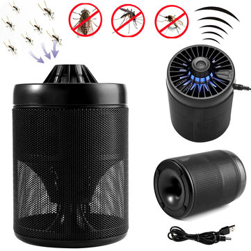 LED UV Mosquito Dispeller Killer Trap Light Lamp Insect Bug Controller Catcher USB Powered