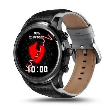 Lemfo LEM5 3G Android 5.1 GPS Heart Rate Monitor bluetooth Smart Watch