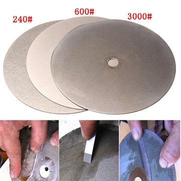 3pcs 6 Inch 240 600 3000 Grit Diamond Wheel Diamond Coated Diamond Grinding Disc