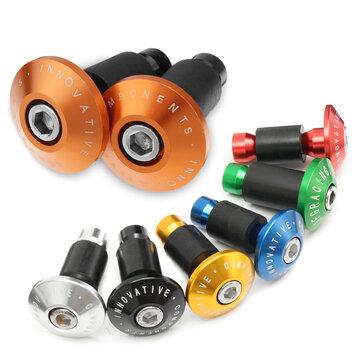 2Pcs 22mm CNC Parts Road MTB Handlebar Cap Hand Grips Bar End Plugs