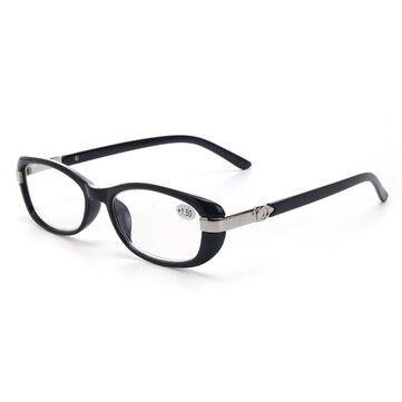 Unisex Full Rimless Reading Glasses With Case Multicolor Computer Presbyopic Glasses