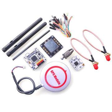 OpenPilot CC3D Revolution Flight Controller + Oplink + M8N GPS + Distribution Board for RC Drone FPV Racing
