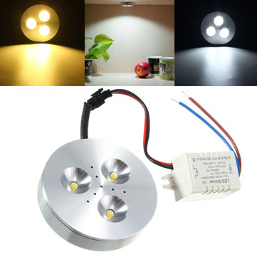 3W Kitchen LED Under Cabinet Lighting Kit Energy Saving Lamp AC85-265V