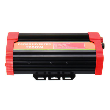 1200W High Power Inverter Peak 2400W DC12V To AC220V with English Manual
