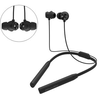 Bluedio TN2 HiFi Active Noise Cancelling Bluetooth Earphone Magnetic Neckband Headphone Dual Mic