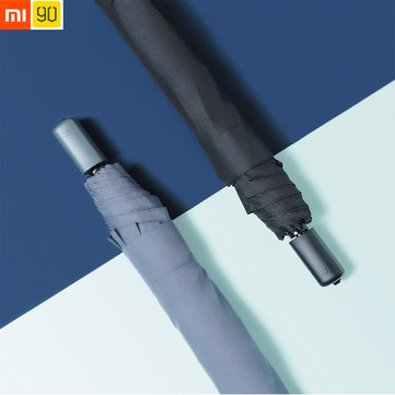 Original Xiaomi 90 Fun Umbrella 2-3 People Portable UPF40+ 395g Waterproof Three Folding Sunshade
