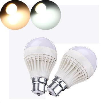 B22 / E27 7 วัตต์ SMD 2835 แสงเสียง เซนเซอร์ LED หลอดไฟโลก 220-240V