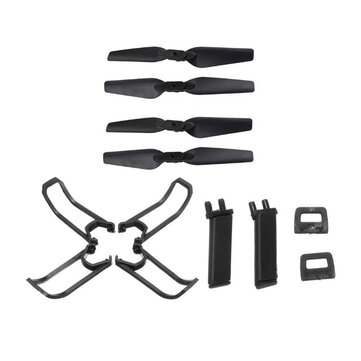 Eachine E58 RC Drone Quadcopter Onderdelen Crash Pack Kits Propeller Blade Set Met Clip Props Guard Landing Gear