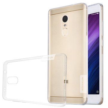 NILLKIN Ultra Thin Transparent Clear Soft TPU Protective Case For Xiaomi Redmi Note 4X