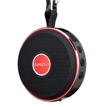 SHIDU T1 Waterproof Portable Buckle TF Card Hands-free Wireless Bluetooth 4.0 Speakers With Mic