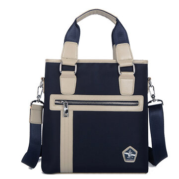 Men Oxford Briefcase Casual Business Messenger Sling Shoulder Bag Tote Handbag