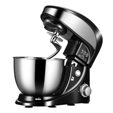 STELANG SC-237 4L / 500W Kitchen Electric Blender Kneading Dough Machine Egg Beater Electric Mixer Cream Whipping Machine For Home Baking