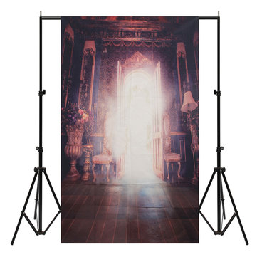 3x5FT Light Door Palace Photography Backdrop Background Studio Porp