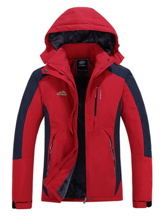 Outdoor Women Thicken Warm Winter Waterproof Windproof Sport Jackets
