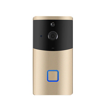 ₹3,554.32 Smart Wireless WiFi Video DoorBell Phone IR Motion PIR Detection Camera Remote Security & Protection from Electronics on banggood.com