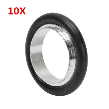 10Pcs KF-25 NW-25 Flange Centering Ring 25mm Aluminum Clamp Ring Vacuum Parts O Ring