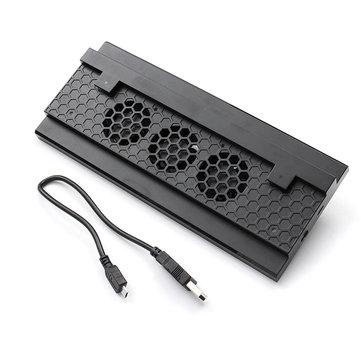 DOBE TYX-620 แท่นวางแนวตั้ง Dock 3 Cooling Fan พอร์ต USB สำหรับ XBOX ONE S คอนโซล