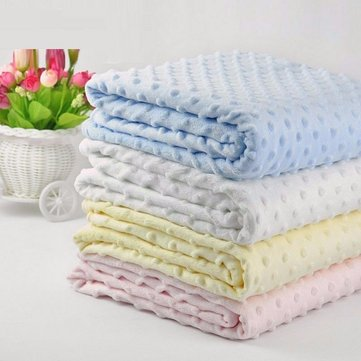 Soft Newborn Bath Towel Baby Fleece Sleeping Blankets Swaddle Wrap Infant Swaddling