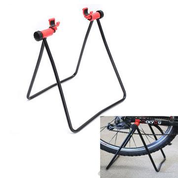 Bici bicicletta cavalletto ruota cavalletto foldind stare supporto cremagliera regolabile