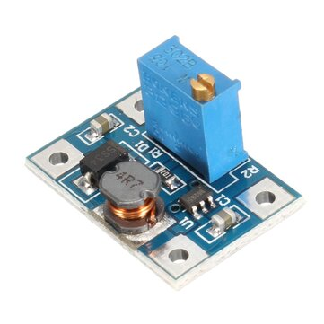 2A DC-DC SX1308 High Current Adjustable Boost Module Short Circuit Protection Overheating Protection Function