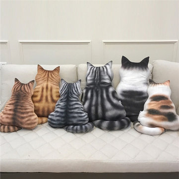43cm Cute Cat Soft Plush Back Shadow Toy Sofa Pillow Seat Cushion Stuffed Plush Toy Birthday Gift for Boys or Girls Room