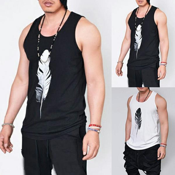 Summer Men's Slim Muscle Bodybuilding Tank