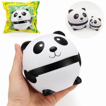 Squishy 팬더 아버지와 아들 천천히 상승 포장 컬렉션 선물 장식 부드러운 장난감