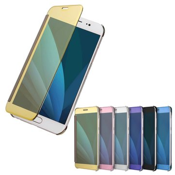 Plating Acrylic Mirror Smart Sleep Case For Samsung Galaxy J3/J5/J7 EU Version 2017