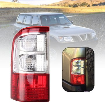 Car Rear Tail Light Cover Brake Lamp Shell Left Side Red for Nissan Patrol GU Series 2 2001-2004