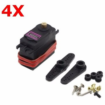 4X MG996R Digital Metal Gear Servo For RC Model