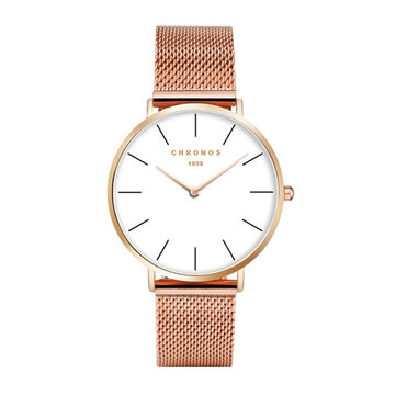 CHRONOS 1898 Casual Milanese Ultra-thin Women Quartz Watch