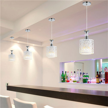 E Modern Crystal Iron LED Ceiling Light Fixtures Chandelier - Kitchen chandeliers and pendants