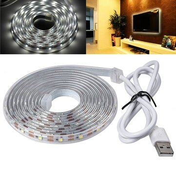 1M 2M USB DC5V 2835 SMD IP65 Waterproof LED Tape Ribbon Strip Light for Home TV Background