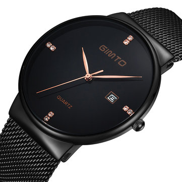 GIMTO GT0122 Ultra Thin Fashionable Unisex Watches