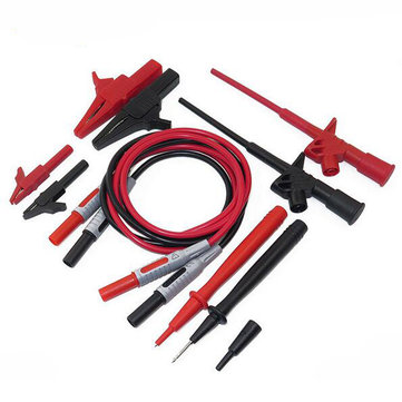 DANIU P1600B 10 in 1 Electronic Specialties Test Lead Automotive Test Probe Multimeter Probe Lead Banana Plug