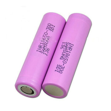 2PCS INR18650-30Q 3000mah 20A Power Li-ion