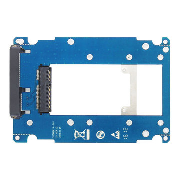 JEYI S112s SSD Converter Card mSATA to SATA m.2 NGFF to SATA3 Hard Drive Box Adjustable Plate