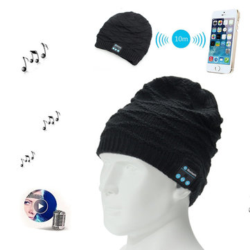 Wireless bluetooth Knitted Hat Headphones Built-in Stereo Music Speaker for Mobile Phone