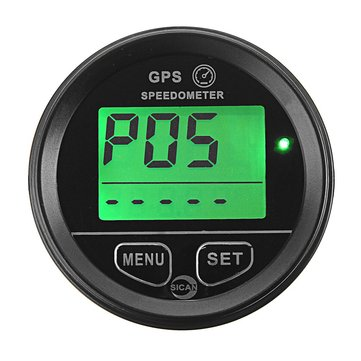 60mm 12V 24V GPS Speedometer Odometer Atv Utv Motorcycle Marine Boat Buggy Golf Go Cart Truck
