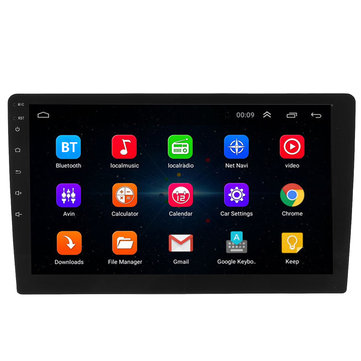 10.1 Inch Android 8.1 System Car GPS Navigation Bluetooth Car MP5 Player
